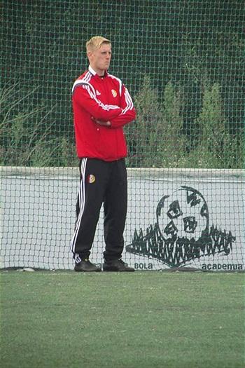 Martin Hamana na stáži v Portugalsku
